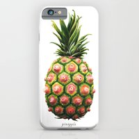 iPhone & iPod Case featuring Pinipple by kozyndan