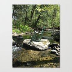 Chair III Canvas Print