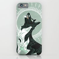 iPhone Cases featuring Saga of Lord Emil by CanisAlbus