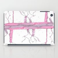 Pink trees iPad Case