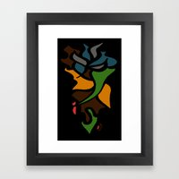 Abstract Puzzle Framed Art Print