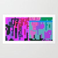 tcanvasmosh9x2a Art Print