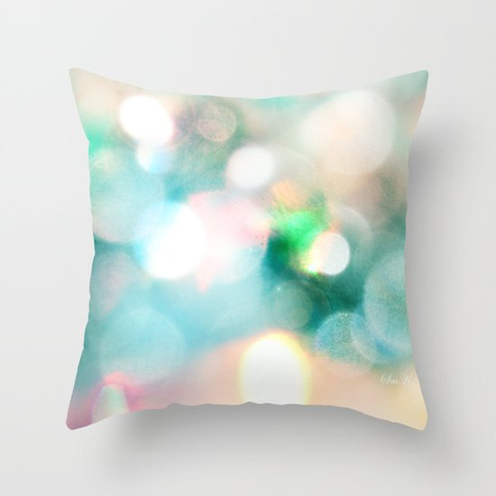 Aura Throw Pillow