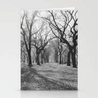 Central Park Trees Stationery Cards