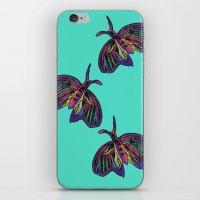 Butterflies gradient  iPhone & iPod Skin