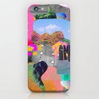 iPhone Cases featuring Brash and Centered Past by Tyler Spangler