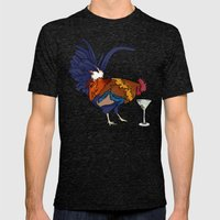 Cocktails Mens Fitted Tee Tri-Black SMALL