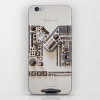 Heavy Metal iPhone & iPod Skin