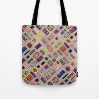Multi color melody light Tote Bag