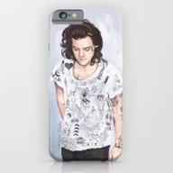 Harry 1D Tattoos T-shirt iPhone 6 Slim Case