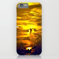 Fire sunset Slim Case iPhone 6s