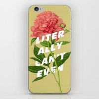 Literally Can't Even iPhone & iPod Skin