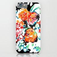 Brush Floral iPhone 6 Slim Case