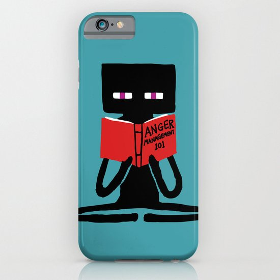 Enderman - Self improvement iPhone & iPod Case