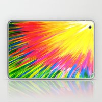 Lightning rays Laptop & iPad Skin