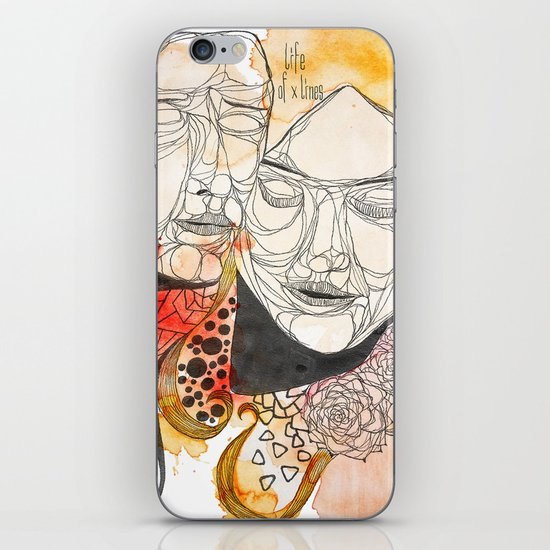 Je t'aime  iPhone & iPod Skin