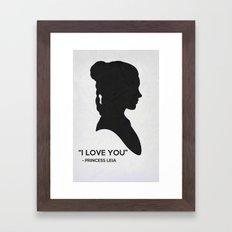StarW Poster 13 Framed Art Print