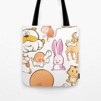 Animals! Tote Bag
