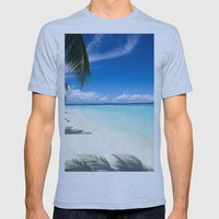 Maldives Mens Fitted Tee Athletic Blue SMALL