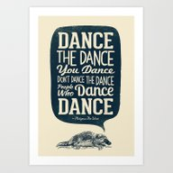 Platypus The Wise Art Print