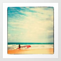Time To Surf Art Print