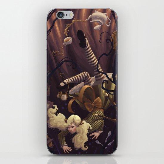 Alice Down the Rabbit Hole iPhone & iPod Skin