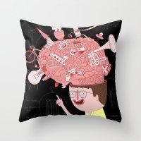 Brain! Throw Pillow