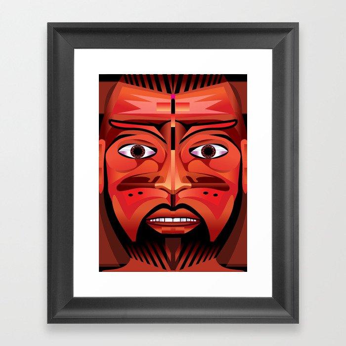 Tulpeclac Man Ecatepec Framed Art Print