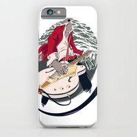 iPhone & iPod Case featuring GRETSCH WHITE FALCON by Oxana-Milka