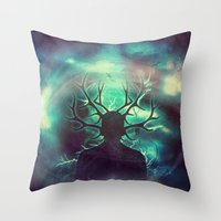 Deer Dreams II Throw Pillow
