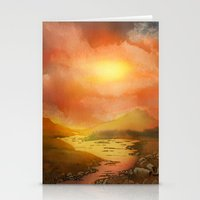 Calling The Sun XIX Stationery Cards
