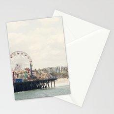 Santa Monica Pier. Happy Birthday Pacific Park!  Stationery Cards
