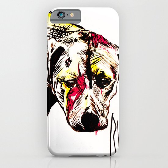 The sadness of streetdogs iPhone & iPod Case