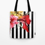 FLORA BOTANICA | Stripes Tote Bag