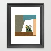 Monster Within  Framed Art Print