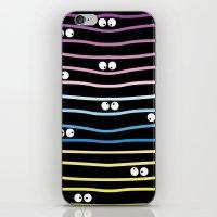 Watching you! iPhone & iPod Skin