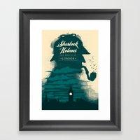Elementary, my dear Watson. Framed Art Print