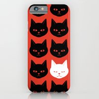 iPhone & iPod Case featuring Cats by Caz Haggar