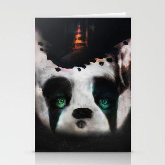 Dog ( Capalau) Stationery Card