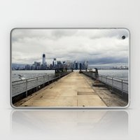 View from Liberty Island Pier Laptop & iPad Skin