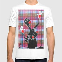 LATE ANNUNCIATION Mens Fitted Tee White SMALL