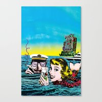 The Time To Think Canvas Print