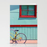 Yellow Bicycle Stationery Cards