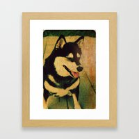 Best friend Framed Art Print