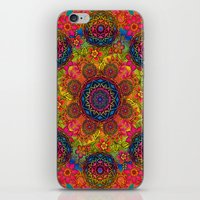 baroque mandalas iPhone & iPod Skin