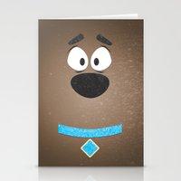 Minimal Scooby Stationery Cards