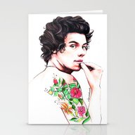 Harry Styles Stationery Cards