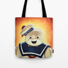 Stay Puft Marshmallow Man Tote Bag