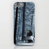 iPhone & iPod Case featuring Jon Snow ( A Game of Thrones) by Erik Krenz