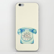 Rotary Telephone - Ballpoint iPhone & iPod Skin